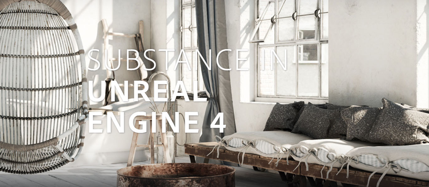 Unreal Engine - Substance Integrations