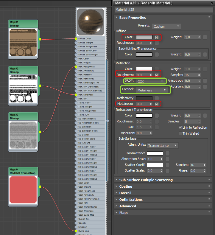 Redshift for 3ds Max - Substance Integrations